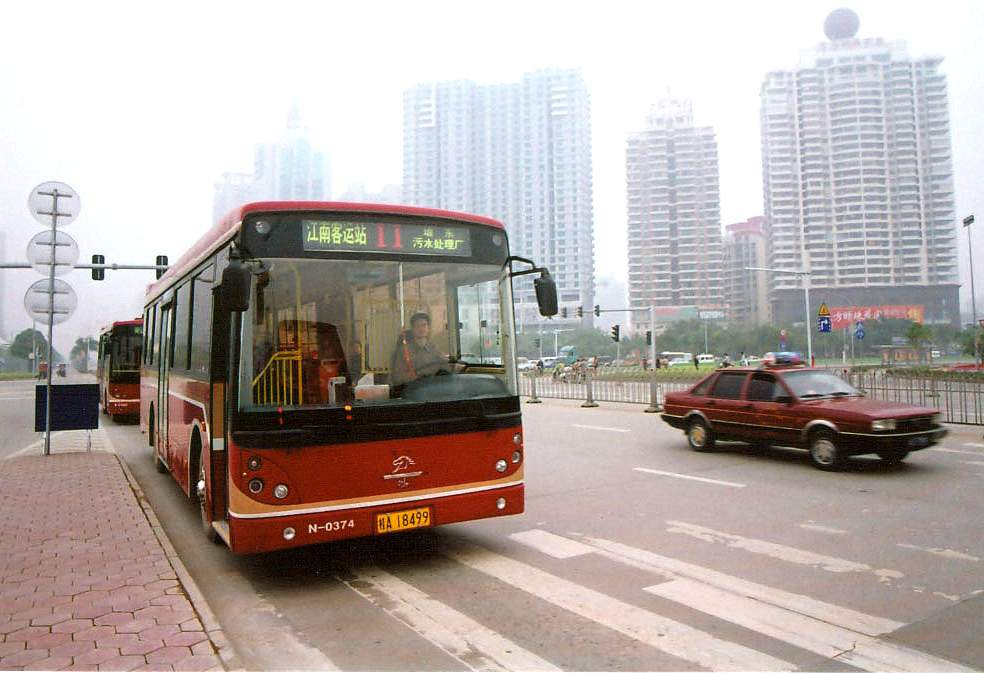 Bus in Nanning, China