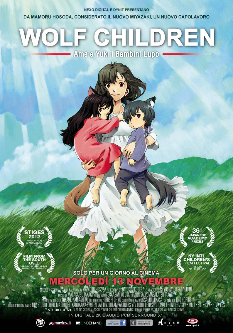 Dynit wolf child al cinema