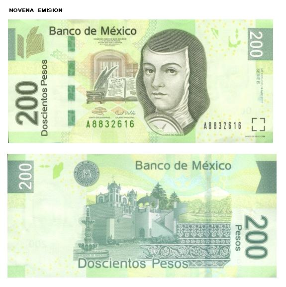 Billetes de Doscientos Pesos Billetes de 200 Pesos
