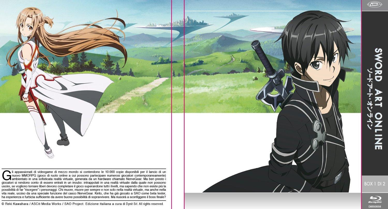 sword art online blu-ray