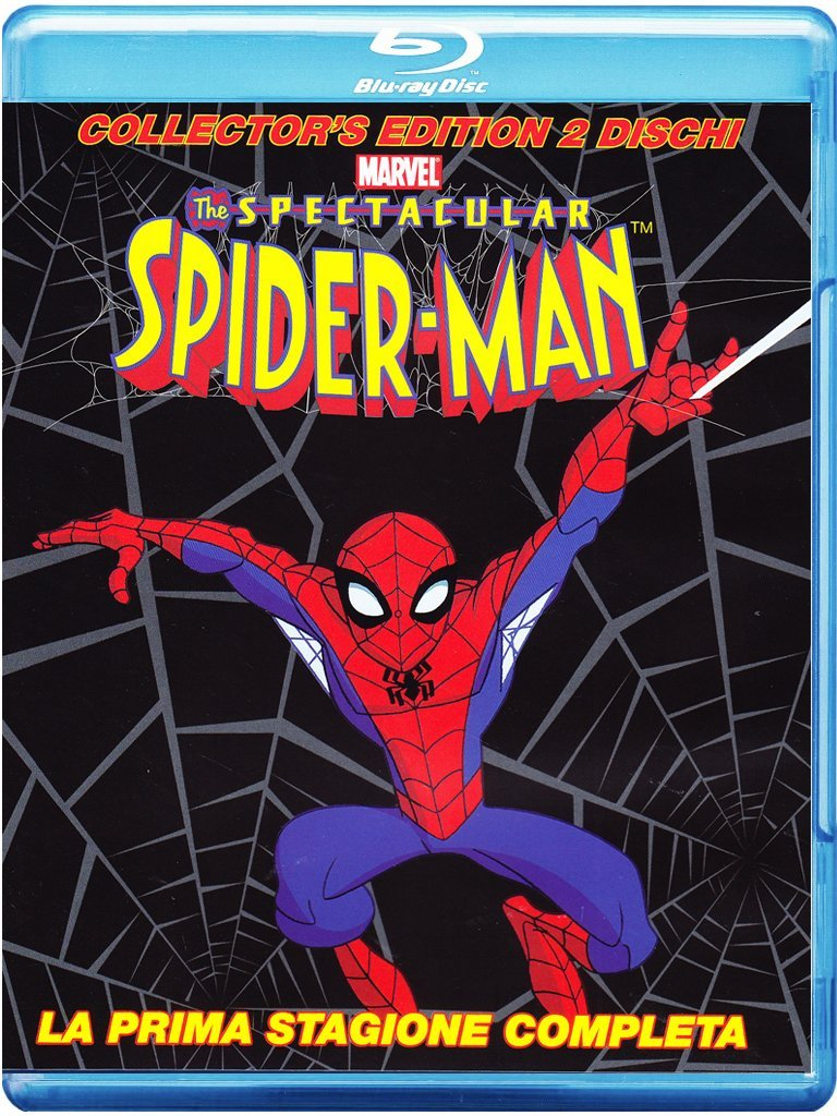 spectacular spider-man stagione 1 lu-ray