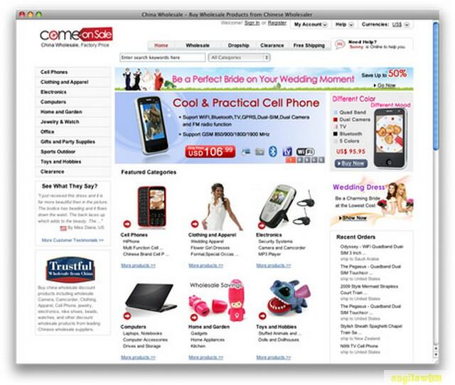 screen1 054 Páginas web para comprar barato en CHINA
