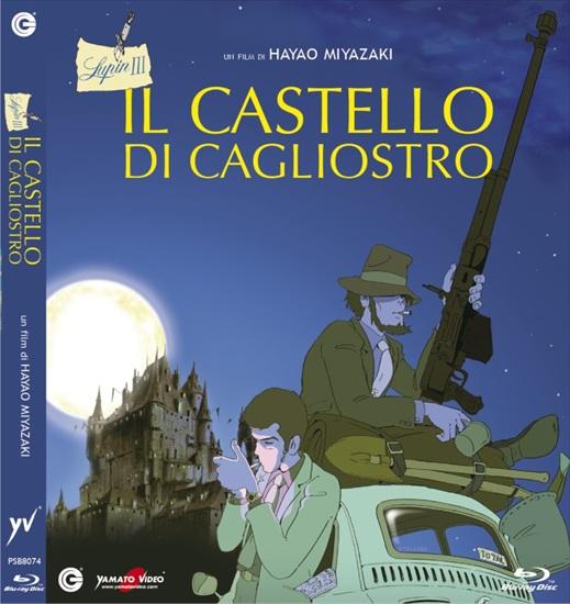 Lupin cagliostro blu-ray yamato italia