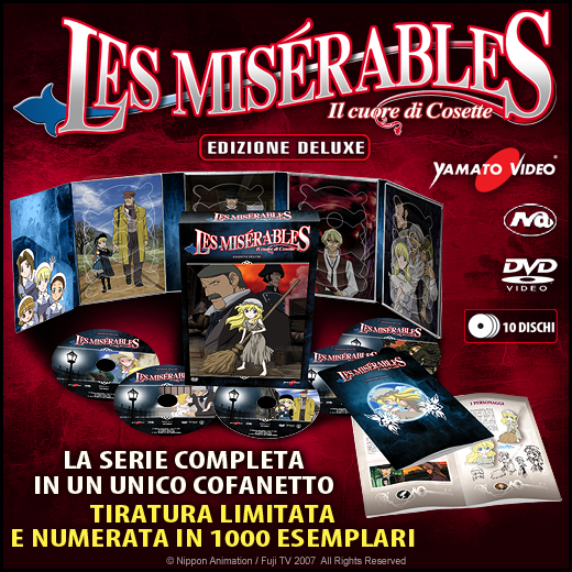 les miserables complete deluxe, limited foto