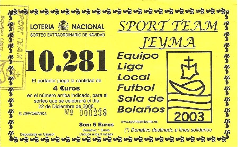 Lotería de Navidad 2008
