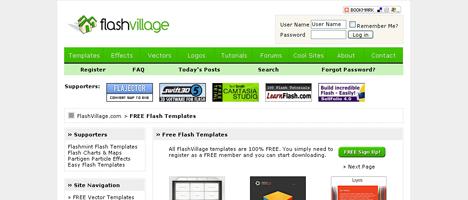 ハイクオリティなFlash(flaファイル)をダウンロードできるすごいサイト