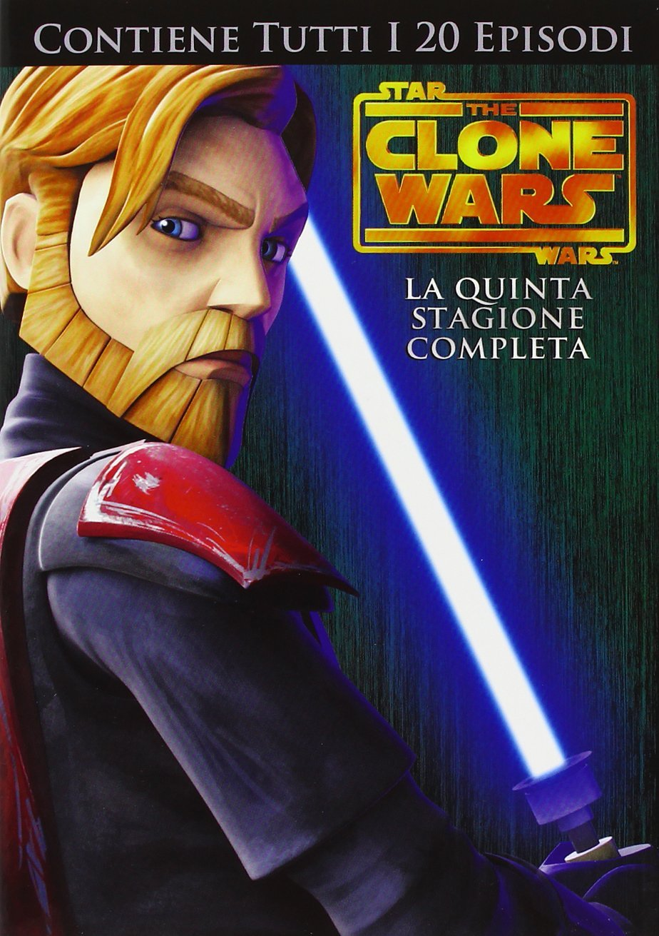 Star Wars - Clone Wars Stagione 5: DVD Box