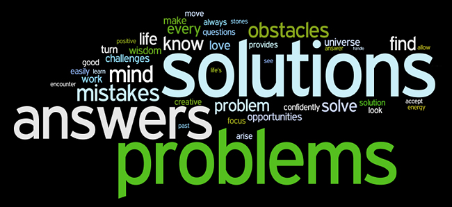 problems affirmations wordle
