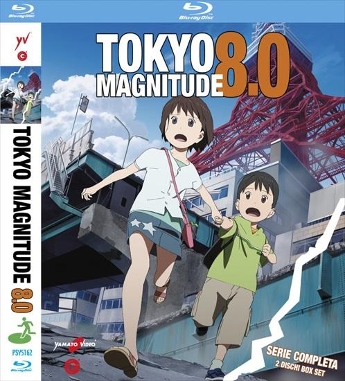 tokyo magnitude, 8.0, yamato video, blu-ray