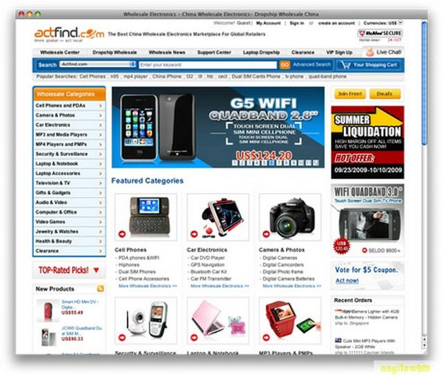 screen1 051 Páginas web para comprar barato en CHINA
