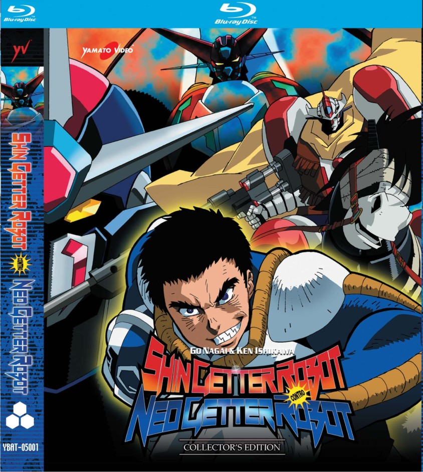 Shin Getter Robot contro Neo Getter Robot Blu-Ray