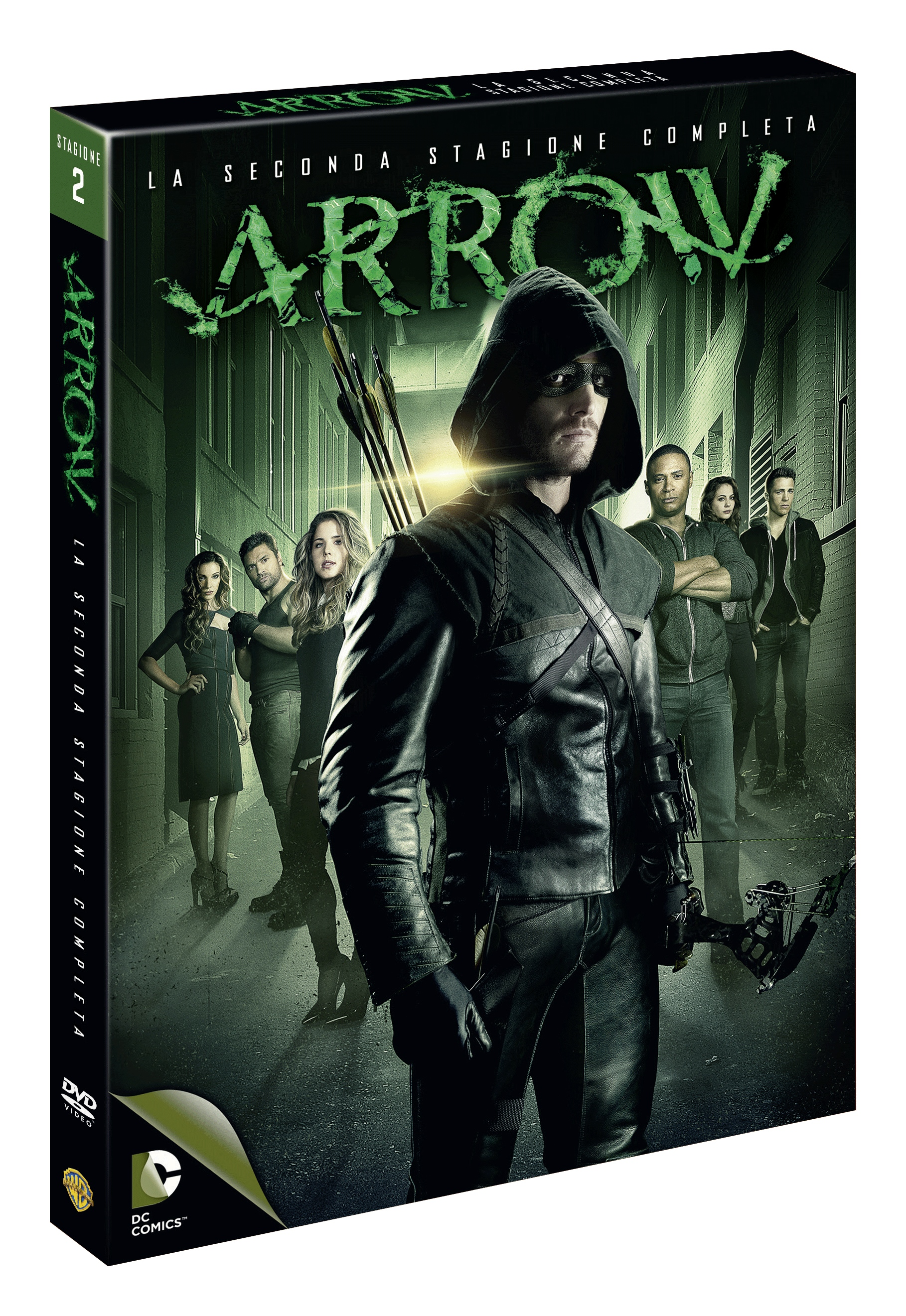 arrow stagione 2 dvd