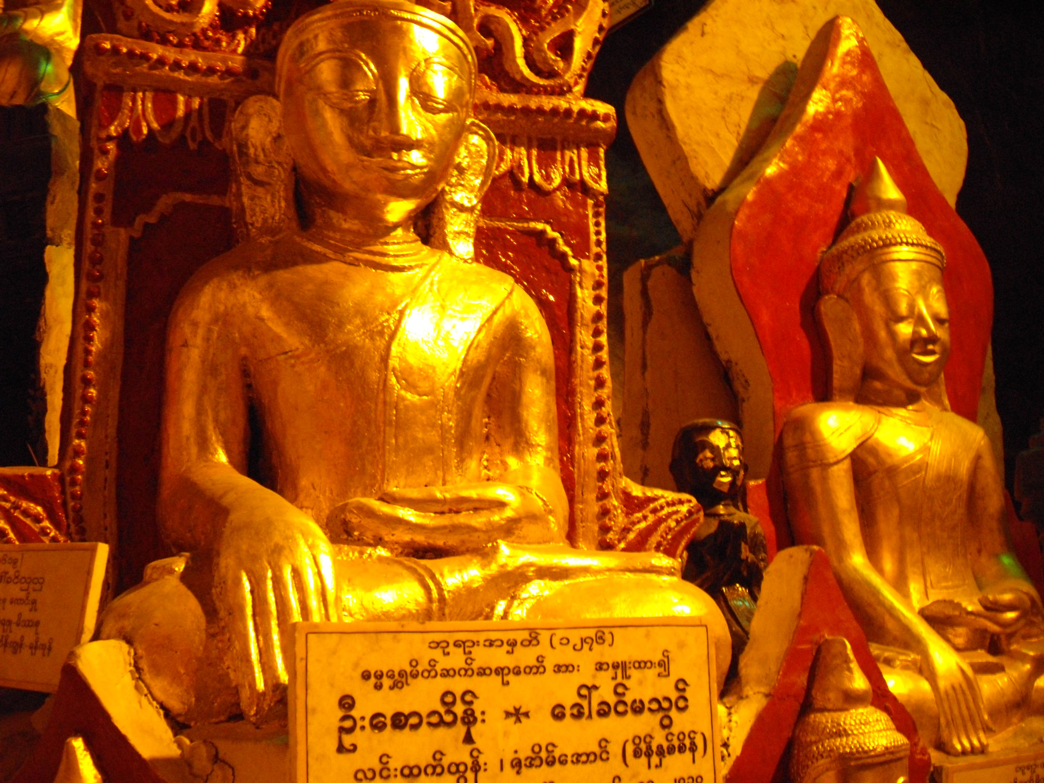 Bouddhas de Pindayas