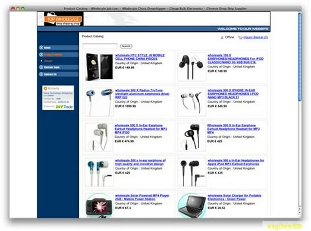 screen1 058 Páginas web para comprar barato en CHINA