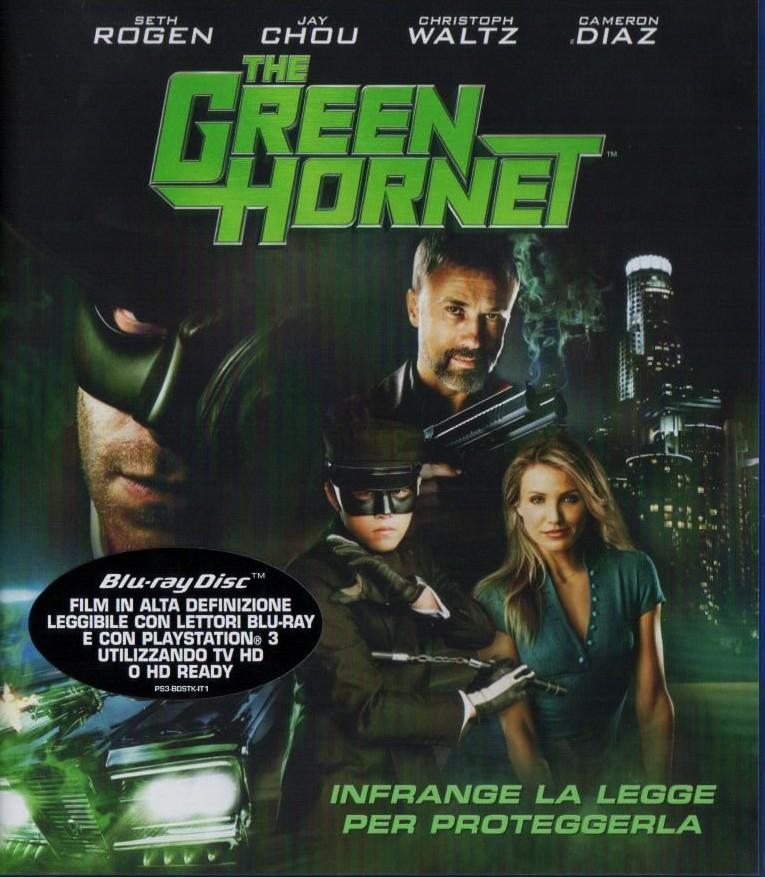 Green Hornet Blu-Ray Copertina