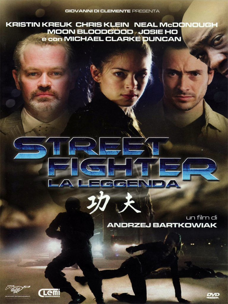 street fighter la leggenda dvd