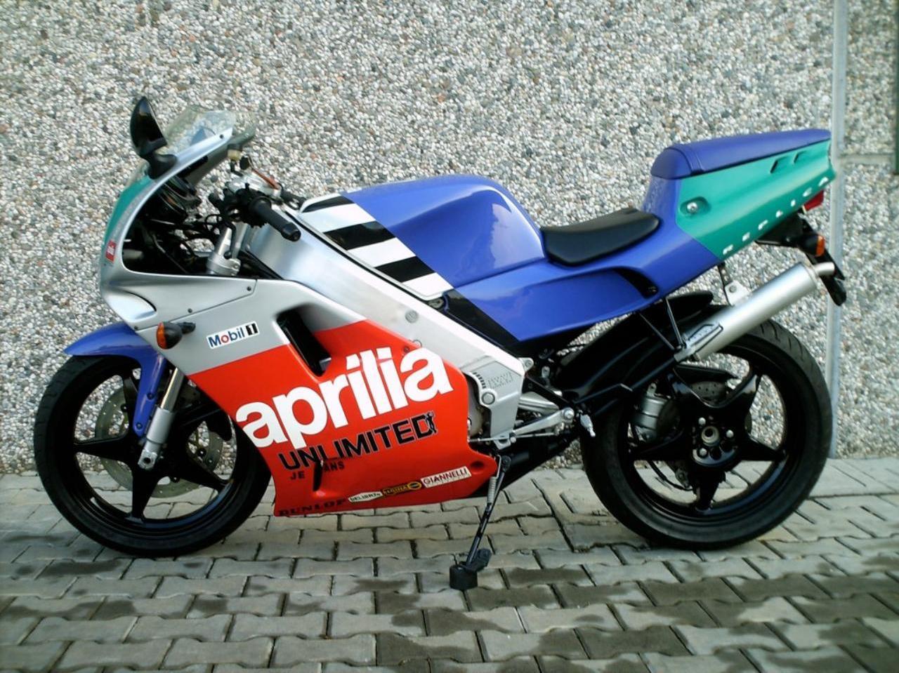 Aprilia AF1 - 125 A EVOLUÇÃO AF1-FUTURA_1991_5