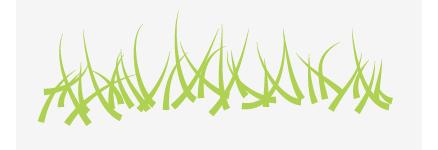 草を描いていきます