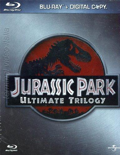 Jurassic Park Trilogy Ultimate Blu-Ray