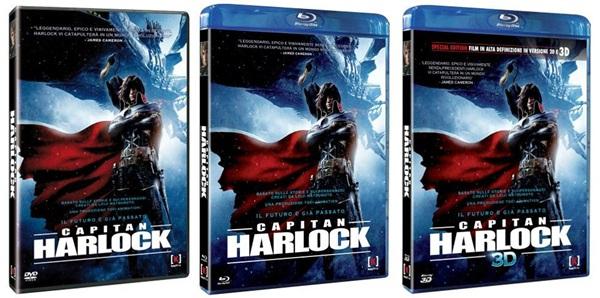 capitan harlock blu-ray