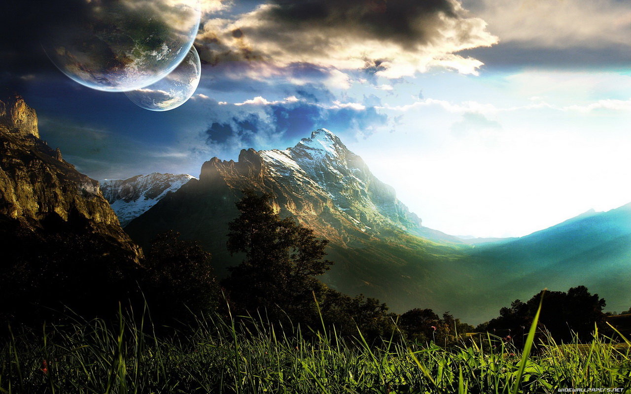 paisaje fantasia -
