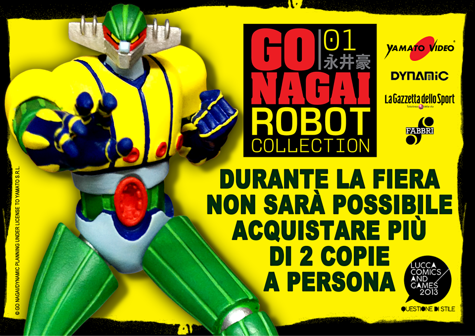 Jeeg modellino go nagai robot collection