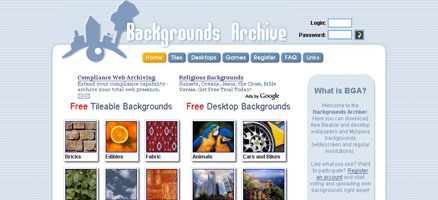 Backgrounds Archive