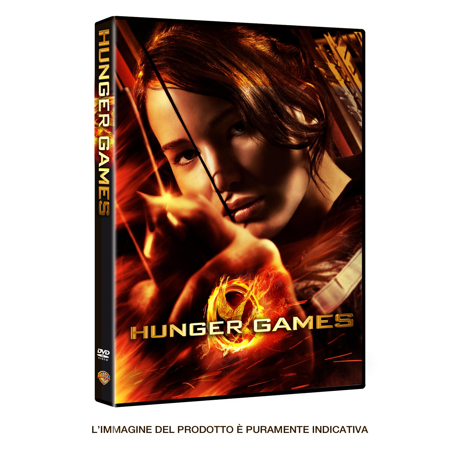 Hnger Games DVD Singolo