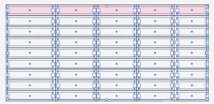 エリア内文字ツールで文字の枠組みを作成